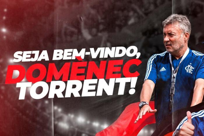 Domenèc Torrent, ex-auxiliar de Guardiola, é anunciado como novo técnico do  Flamengo - Roraima 1